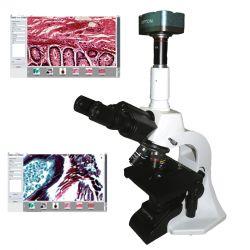 Microscópio Biológico Digital com Câmera de 5.0 MP