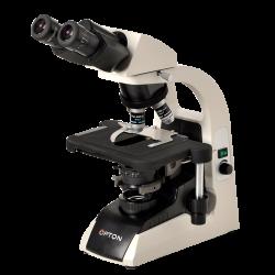 Microscópio Binocular Objetiva Planacromática Infinita. Aumento 40 a 1000X