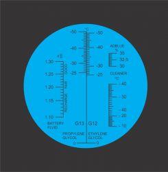 Refratômetro Manual - Adblue & Urea - Arla 32.