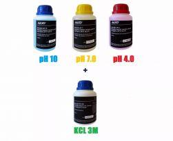Combo Soluções para Medidores de pH (phmetros)