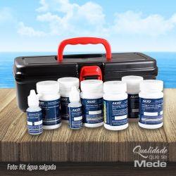 Fitas de Análise Visual - Kit Água Salgada (50 testes)